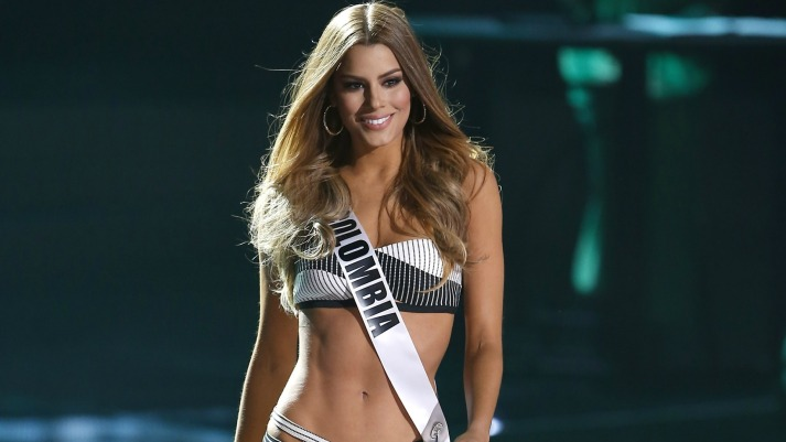 Miss Universe 2015 Preliminary Competition at The AXIS at Planet Hollywood Resort & Casino Las Vegas Featuring: Miss Colombia, Ariadna Gutierrez Arevalo Where: Las Vegas, Nevada, United States When: 16 Dec 2015 Credit: Judy Eddy/WENN.com