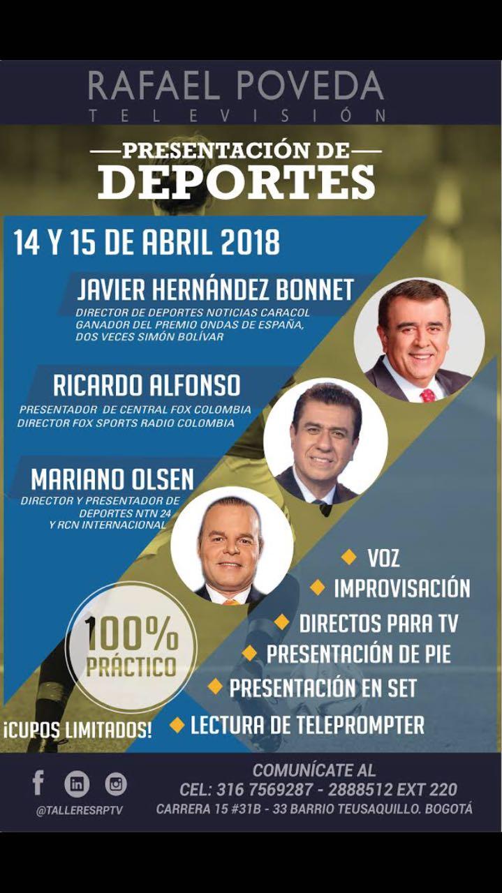 JAVIER HERNANDEZ DICTA TALLER DE SU ESPECIALIDADDEPORTIVA