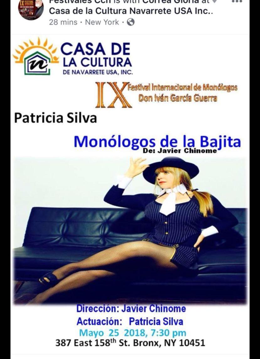 PATRICIA SILVA: Y SIGUE TANCAMPANTE
