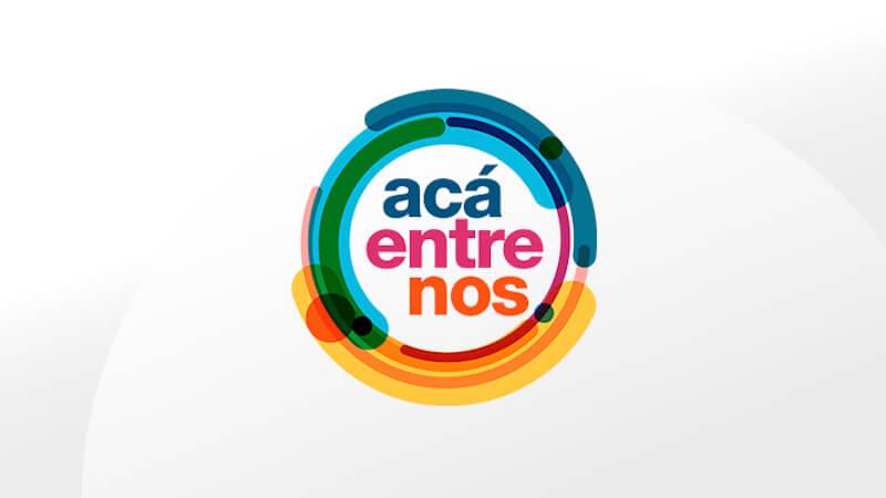 """ACA ENTRE NOS"" DEL CANAL 1 ENCAPILLA"